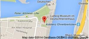 Anfahrtskizze mit Google Map