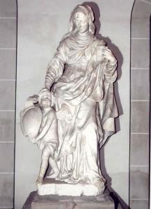 Weißmarmorfigur Anna