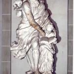Weißmamorfigur Joachim