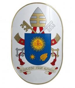 Wappen von Papst Franziskus